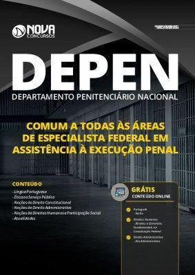 Apostila DEPEN 2021 PDF Grátis Cursos Online Especialista Federal em Assistência à Execução Penal