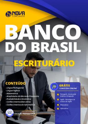 Apostila Escriturário Banco do Brasil 2021 PDF Grátis Cursos Online