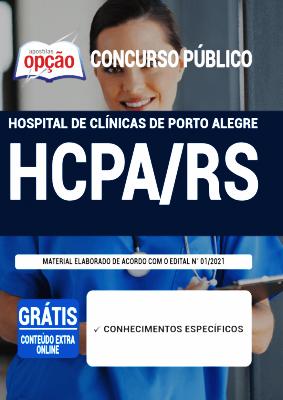 Apostila Hospital de Clínicas 2021 PDF Grátis Editora Opção