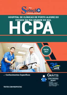Apostila Hospital de Clínicas 2021 PDF Grátis Editora Solução