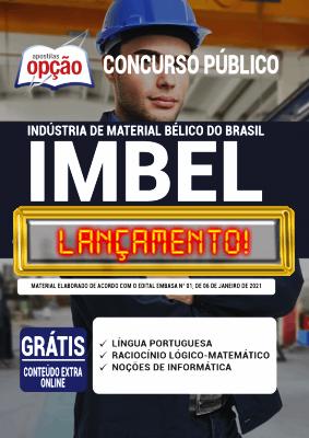 Apostila IMBEL 2021 PDF Grátis Conteúdo PDF Download Editora Opção