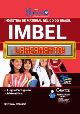 Apostila IMBEL 2021 PDF Grátis Conteúdo PDF Download Editora Solução