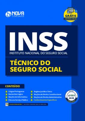 Apostila INSS 2021 PDF Grátis Cursos Online Técnico do INSS