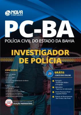 Apostila Investigador PC BA 2021 PDF Grátis Cursos Online