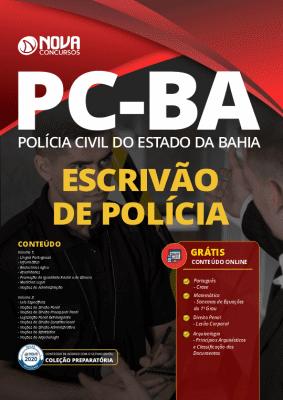 Apostila Escrivão PC BA 2021 PDF Grátis Cursos Online
