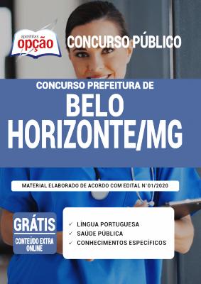 Apostila Belo Horizonte 2021 PDF Grátis Conteúdo Online Editora Opção