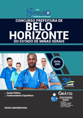 Apostila Belo Horizonte 2021 PDF Grátis Conteúdo Online Editora Solução