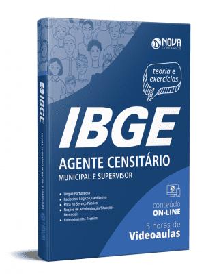 Apostila Agente Censitário IBGE 2021 PDF Grátis Cursos Online
