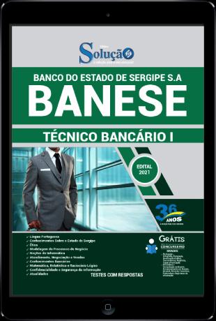 Apostila BANESE 2021 PDF Download Grátis Conteúdo Online