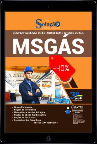 Apostila Concurso MSGÁS 2021 PDF Download Desconto