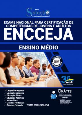 Apostila do ENCCEJA 2021 PDF Download Ensino Médio Editora Solução