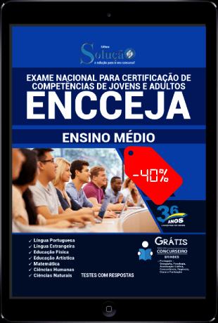 Apostila ENCCEJA 2021 PDF Download Grátis Ensino Médio