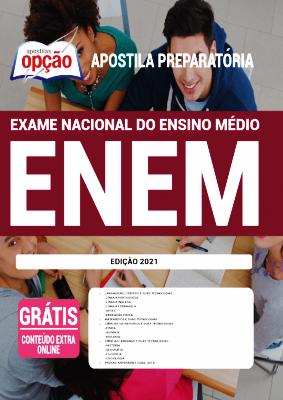 postila ENEM 2021 PDF Download Grátis Editora Opção