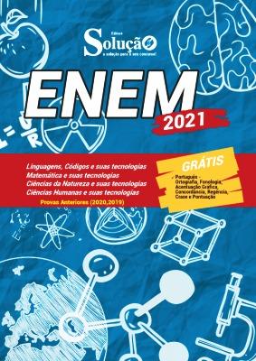 Apostila ENEM 2021 PDF Download Grátis Editora Solução
