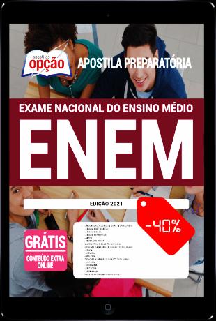Apostila ENEM 2021 PDF Download Grátis Editora Opção