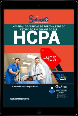 Apostila Hospital de Clínicas 2021 PDF Grátis Conteúdo Online