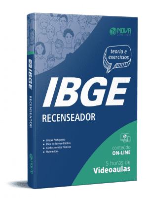 Apostila IBGE 2021 PDF Grátis Recenseador IBGE 2021