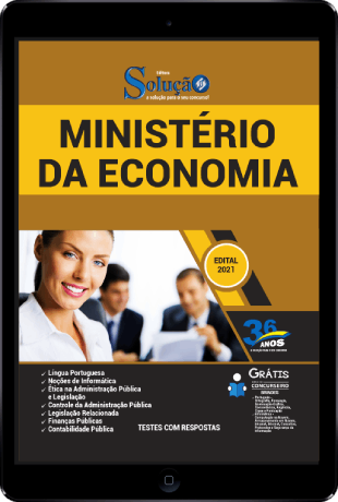 Apostila Ministério da Economia 2021 PDF Download Grátis
