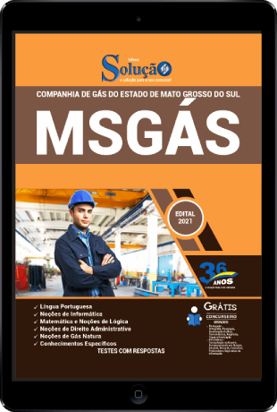 Apostila MSGÁS 2021 PDF Download Grátis