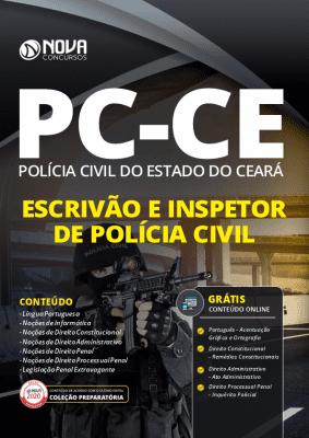 Apostila PC CE 2021 PDF Download Grátis Cursos Online Inspetor e Escrivão