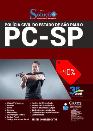 Apostila PC SP 2021 PDF Download Grátis Solução