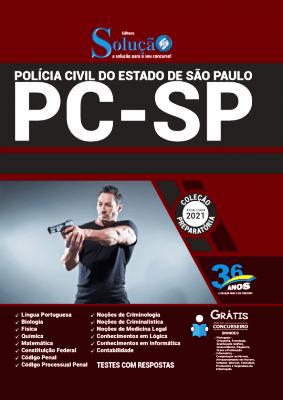 Apostila Polícia Civil SP 2021 PDF Download Grátis Editora Solução
