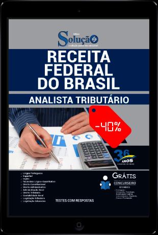 Apostila Analista Tributário Receita Federal PDF Grátis