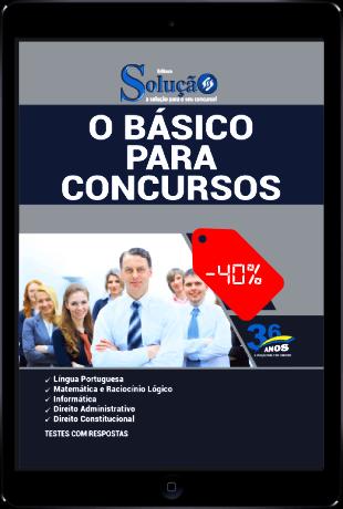 Apostila Básico para Concursos 2021 PDF Download Grátis