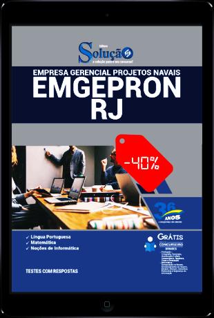 Apostila Concurso EMGEPRON RJ 2021 PDF Download Grátis