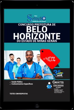 Apostila Concurso PBH 2021 PDF Grátis Conteúdo Online