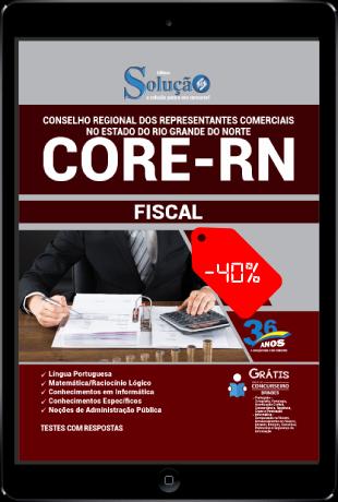 Apostila CORE RN 2021 PDF Download Grátis Fiscal