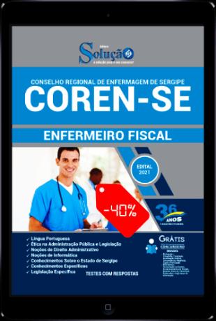 Apostila COREN SE 2021 PDF Download Grátis Enfermeiro Fiscal