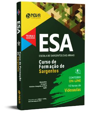 Apostila ESA 2021 PDF Download Grátis Cursos Online