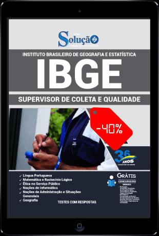 Apostila IBGE 2021 PDF Download Supervisor de Coleta e Qualidade
