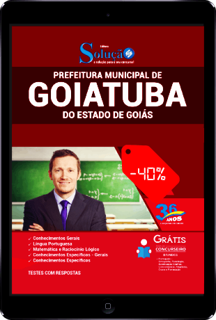 Apostila Prefeitura de Goiatuba GO 2021 PDF Download Grátis