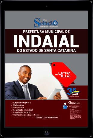 Apostila Prefeitura de Indaial SC 2021 PDF Download Grátis