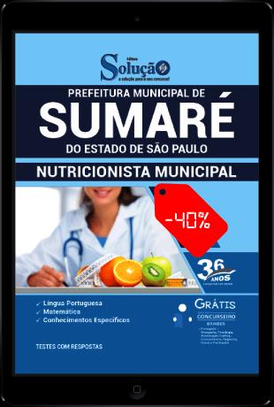 Apostila Prefeitura de Sumaré SP 2021 PDF Download Grátis