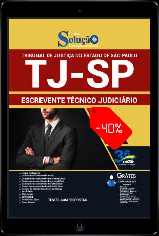 Apostila TJ SP 2021 PDF Download Escrevente Solução