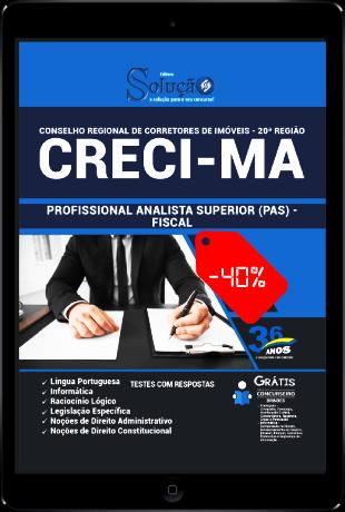 Apostila CRECI MA 2021 PDF Download Grátis Fiscal