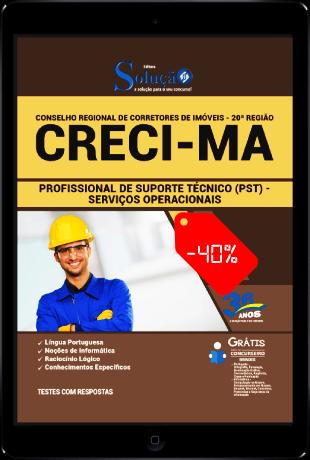 Apostila CRECI MA 2021 PDF Download Grátis Serviços Operacionais