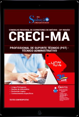 Apostila CRECI MA 2021 PDF Download Grátis Técnico Administrativo