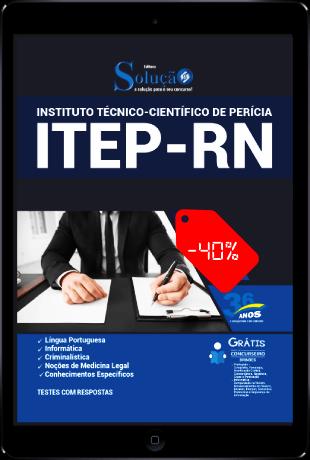 Apostila ITEP RN 2021 PDF Download Grátis Conteúdo Online