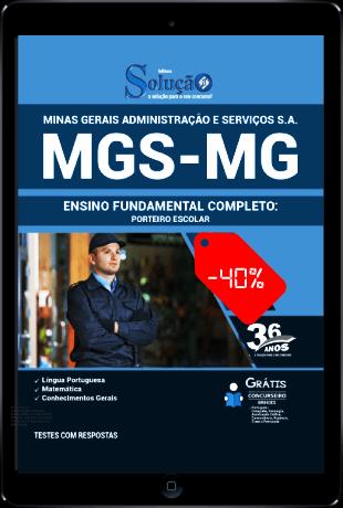Apostila MGS MG 2021 PDF Grátis Ensino Fundamental Completo