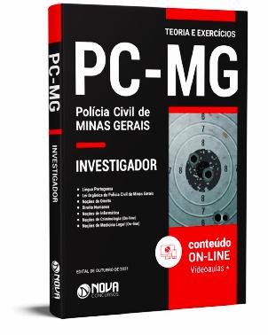 Apostila PC MG 2021 PDF Download Grátis Investigador PC MG