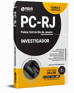 Apostila PC RJ 2021 PDF Download Grátis Investigador PC RJ