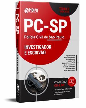Apostila PC SP 2021 PDF Download Grátis Investigador e Escrivão