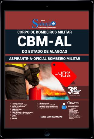 Apostila CBM AL 2021 PDF Download Grátis Oficial CBMAL