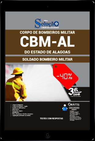 Apostila CBM AL 2021 PDF Download Grátis Soldado CBMAL