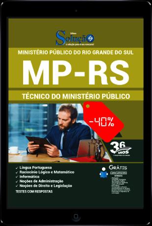 Apostila MP RS 2021 PDF Download Grátis Técnico MP RS