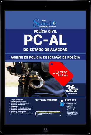 Apostila PC AL 2021 PDF Grátis Download